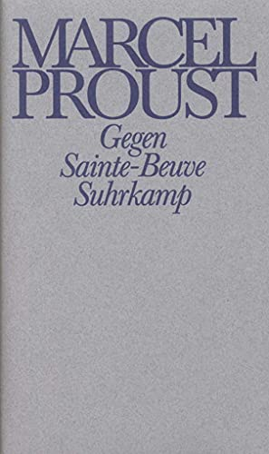 Werke. Frankfurter Ausgabe: Werke III. Band 3: Marcel Proust, Luzius