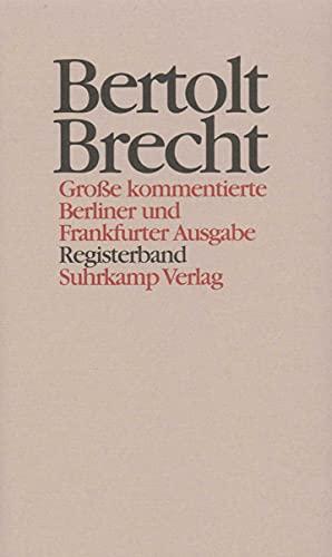 Werke. Große kommentierte Berliner und Frankfurter Ausgabe. 30 Bände (in 32 Teilbänden) und ein ...