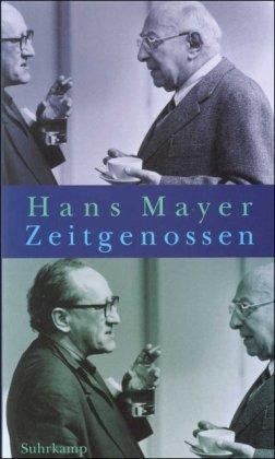 9783518409633: Zeitgenossen: Erinnerung und Deutung (German Edition)