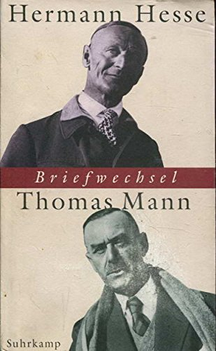 9783518410387: Briefwechsel Hermann Hesse / Thomas Mann