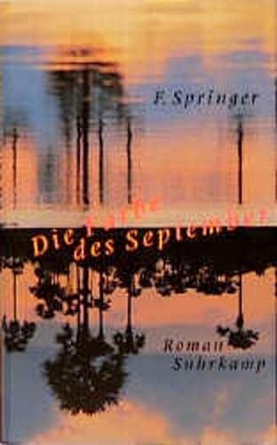 9783518410523: Die Farbe des September