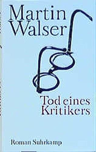 9783518413784: Tod Eines Kritikers (German Edition)
