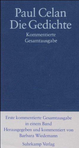 9783518413906: Die Gedichte: Kommentierte Gesamtausgabe in einem Band