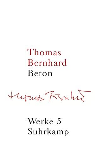 9783518415054: Werke 05. Beton: Band 5: Beton: Bd. 5