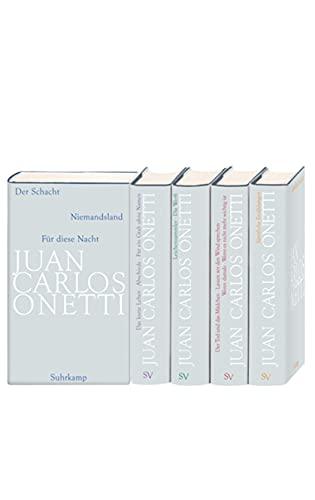 Gesammelte Werke. Bände 1-5: Juan Carlos Onetti