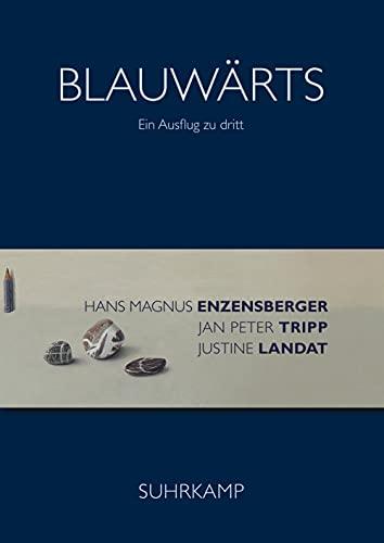 Blauwärts: Ein Ausflug zu dritt: Enzensberger, Hans Magnus;