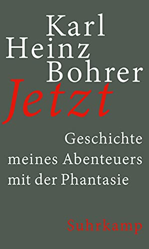 9783518425794: Bohrer, K: Jetzt