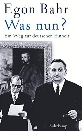 9783518428764: Was nun?: Ein Weg zur deutschen Einheit