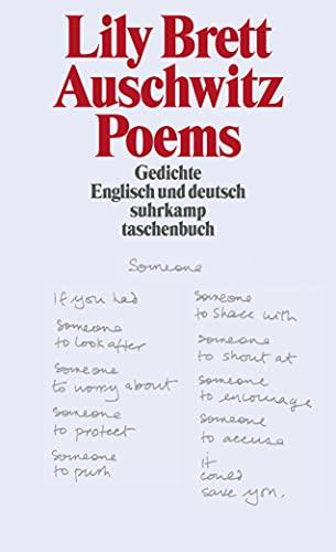 9783518456057: Auschwitz Poems
