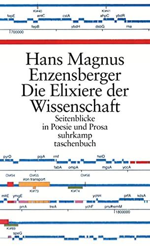 9783518456323: Die Elixiere der Wissenschaft: Seitenblicke in Poesie und Prosa