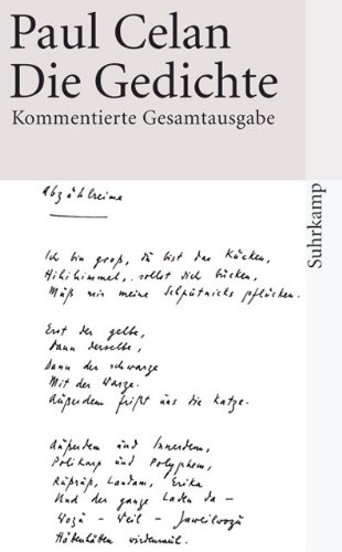 9783518456651: Die Gedichte: Kommentierte Gesamtausgabe