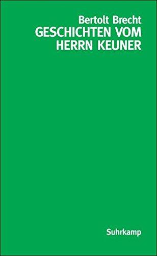 9783518458464: Geschichten vom Herrn Keuner