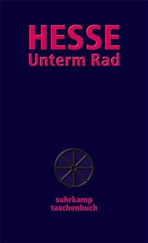 9783518458518: Unterm Rad