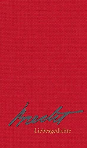 9783518461259: Liebesgedichte (suhrkamp taschenbuch)