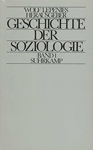 Geschichte der Soziologie: Wolf Lepenies