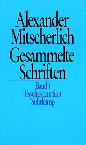 Gesammelte Schriften in zehn Bänden Menne, Klaus and Mitscherlich, Alexander