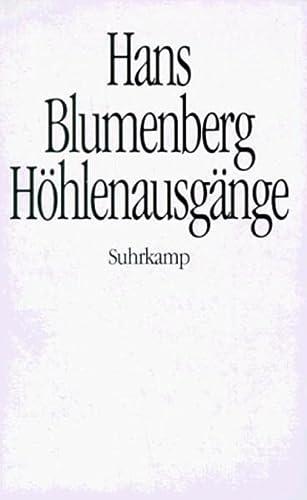 9783518578827: Höhlenausgänge (German Edition)