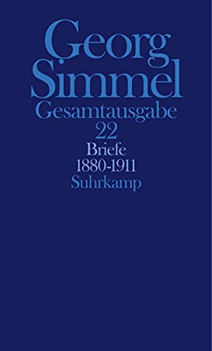 Briefe 1880-1911: Georg Simmel