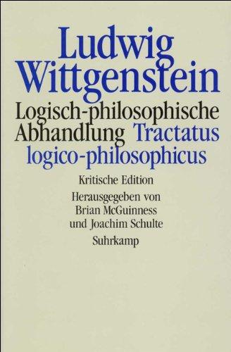 9783518579879: Logisch-philosophische Abhandlung: Tractatus logico-philosophicus (German Edition)