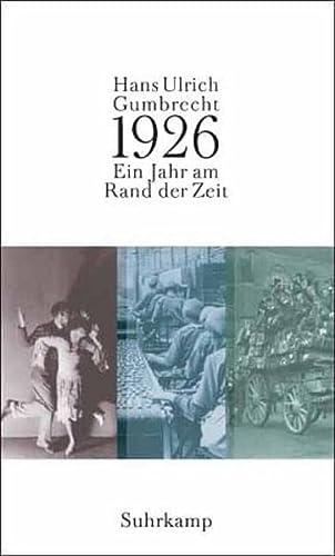 9783518583005: 1926 ( Neunzehnhundertsechsundzwanzig). Ein Jahr am Rand der Zeit.