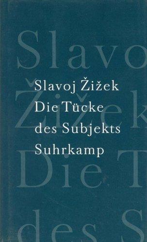 9783518583043: Die Tücke des Subjekts.