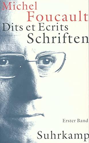 Schriften in vier Bänden - Dits et Ecrits 1. 1954 - 1969: Michel Foucault