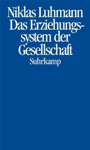 9783518583203: Das Erziehungssystem der Gesellschaft