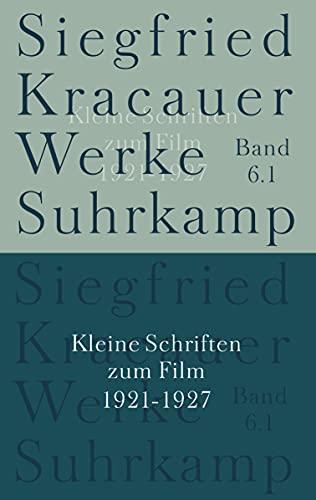 Werke in neun Bänden: Siegfried Kracauer