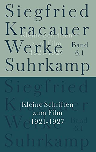 9783518583364: Kleine Schriften zum Film.