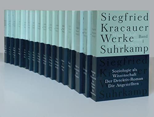 9783518584002: Werke in neun Bänden