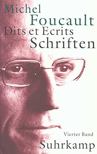 9783518584347: Schriften in vier Bänden - Dits et Ecrits 4