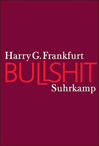 Bullshit: Harry G. Frankfurt