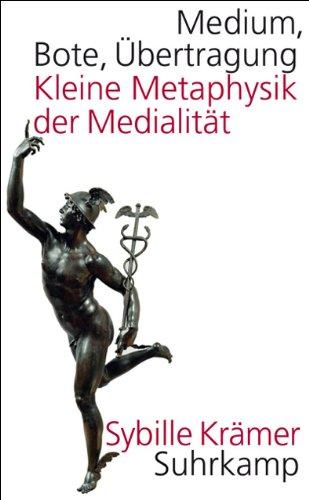 9783518584927: Medium, Bote, Ãœbertragung: Kleine Metaphysik der Medialität