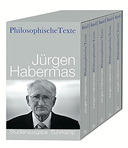 9783518585153: Philosophische Texte: Studienausgabe in f�nf B�nden