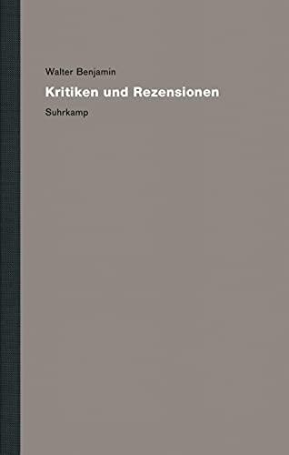 Werke und NachlaÃ?. Kritische Gesamtausgabe: Band 13: Kritiken und Rezensionen: Suhrkamp Verlag