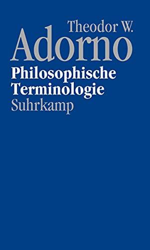 9783518586891: Nachgelassene Schriften. Abteilung IV: Vorlesungen: Band 9: Philosophische Terminologie