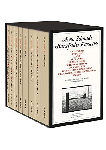 9783518803509: Bargfelder Ausgabe. Studienausgabe der Werkgruppe I: Romane, Erzählungen, Gedichte, Juvenilia