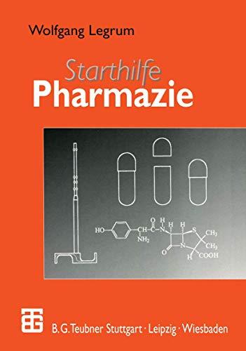 9783519002994: Starthilfe Pharmazie (German Edition)