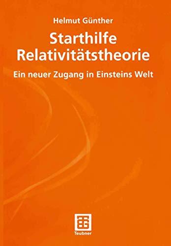 9783519003823: Starthilfe Relativitätstheorie.