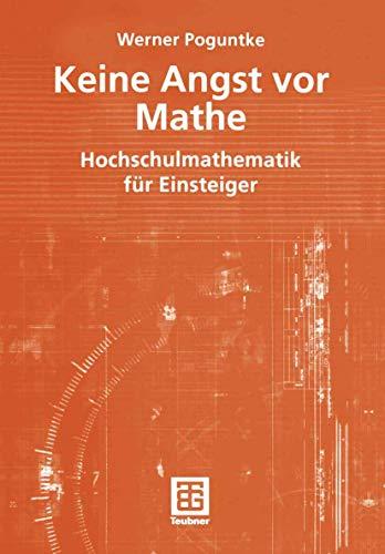 9783519005018: Keine Angst vor Mathe.