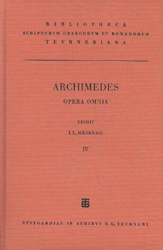 Archimedis opera omnia cum commentariis eutocii. Vol.