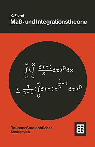 9783519020592: Maß- und Integrationstheorie: Eine Einführung (Teubner Studienbücher Mathematik)