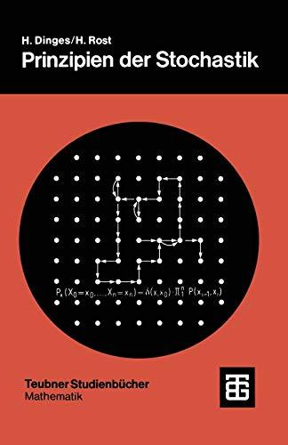 9783519020622: Prinzipien der Stochastik (Teubner Studienb�cher Mathematik)