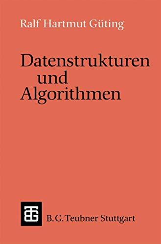 9783519021216: Datenstrukturen Und Algorithmen