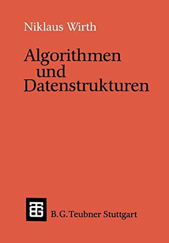 9783519022503: Algorithmen und Datenstrukturen: Pascal-Version (Leitfäden und Monographien der Informatik)