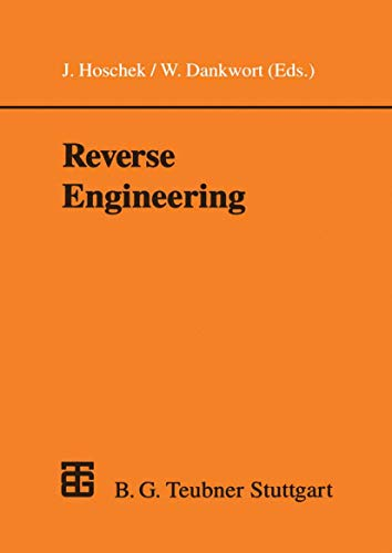 9783519026334: Reverse Engineering