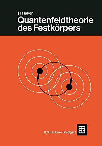 9783519030256: Quantenfeldtheorie Des Festkorpers