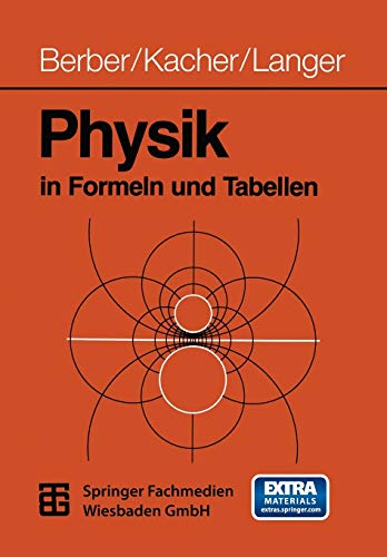 9783519032007: Physik in Formeln und Tabellen (German Edition)