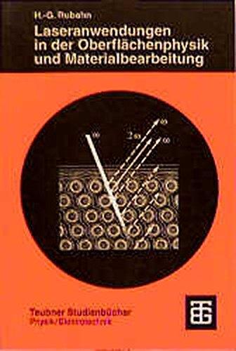 9783519032311: Laseranwendungen in Der Oberflã¤chenphy