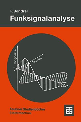 Funksignalanalyse (Teubner Studienbücher Technik) (German Edition)